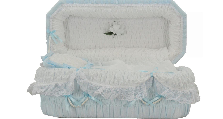 Cercueils Bernier - Modèle #8 Bleu / Bernier Caskets - Model #8 Blue
