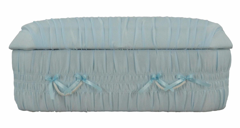 Cercueils Bernier - Modèle #8 Bleu Fermé / Bernier Caskets - Model #8 Blue Closed