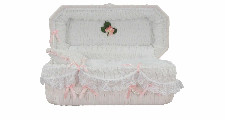 Cercueils Bernier - Modèle #8 Rose / Bernier Caskets - Model #8 Pink