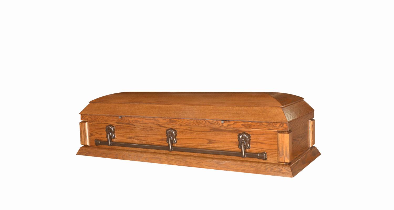 Cercueils Bernier - Modèle 60 Po Sofa Fermé / Bernier Caskets - Model 60 In Couch Closed