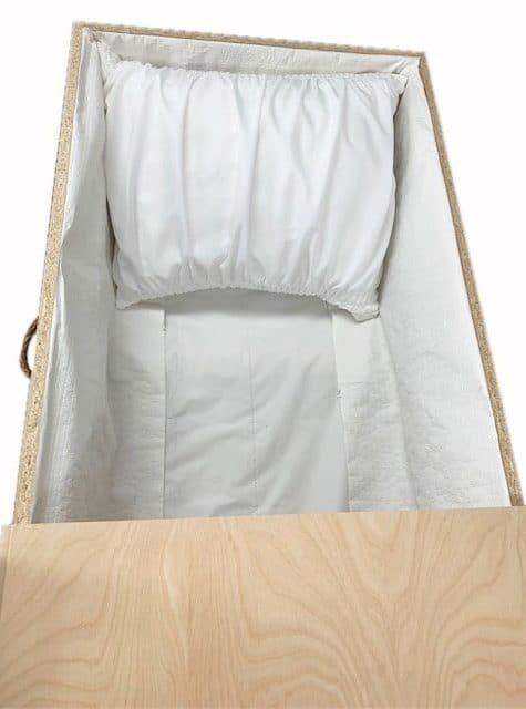 Cercueils Bernier Caskets - Modèle #14 MDF Model Interior